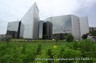 Dubai Investments Headquarters building receives ISO-14064-1 certification for Greenhouse Gas emission Inventory.